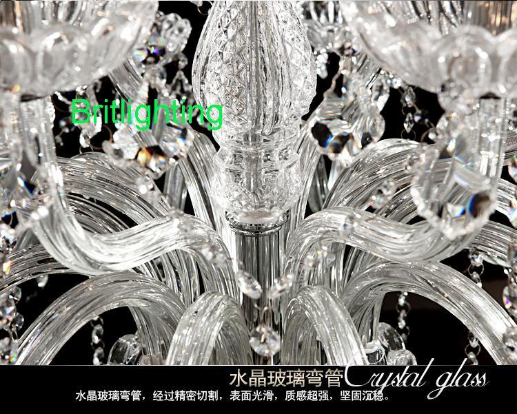Modern kristal avizeler oturma odası endüstriyel avize salonu traditonal avize kristal zincir büyük avize kristal