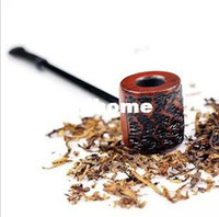 Wholesale Sanda Pipes - Classic Best Smoking Pipe Fashion Briar Brand Sanda Wood Smoking Pipe Cheap Sale