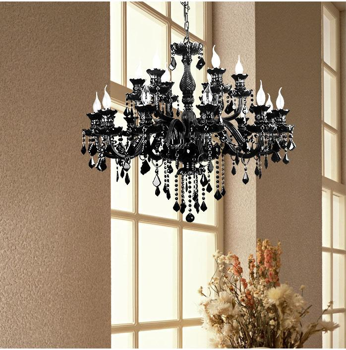 Crystal Chandelier Price: Black Crystal Chandeliers At Factory Direct Price Black