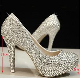 Silver Prom Platform Heels Online | Silver Prom Platform Heels for ...
