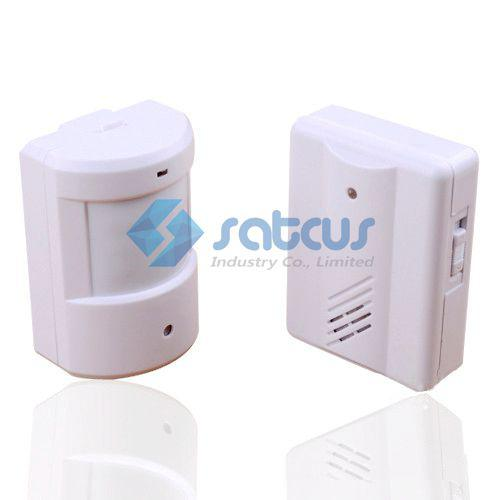 Infrared Wireless Alert System Motion Sensor Alarm system Home security system Garage Driveway Patrol Detector Alarm new