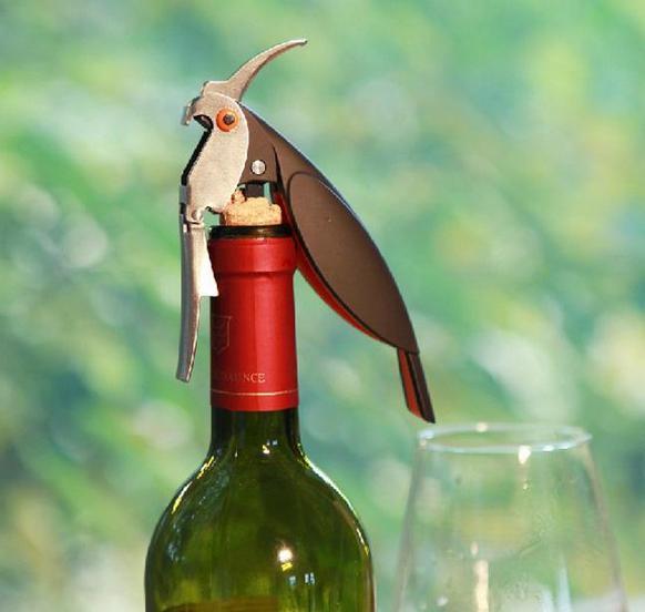 جديد وصول الببغاء فتحت زجاجة ويت الحصين سكين المقاوم للصدأ المفتاح ل علب الجرار النبيذ الاحمر البيرة زجاجات الفتاحات بار أدوات