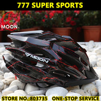 Wholesale Moon Cycling Helmet - Ultralight 27 Vents MOON Road Bicycle Helmet Bike Highway Mountain Cycling Helmet MTB Capacete Casco MV27