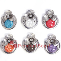 12PCS LOT New Fashion 6 Colors Mixed Jewelry Scarf Pendant M...