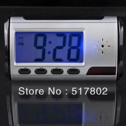 Hot selling New arrival Multi Function Clock Nanny Cam Hidden Motion Detection Remote Y529