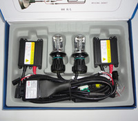Wholesale Hid Brightness - 35W H4 9003 HL 9007 H13 9003 high and low beam xenon double beam lamps bi-xneon Super brightness TOP QUALITY hid xenon k