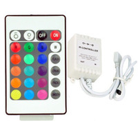 RGB LED Strips Controller Wireless IR Remote DC 12V 24 touches infrarouge IR Télécommande pour 5050 3528 RGB led strip light