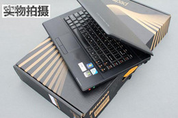 Wholesale 14inch Computer Laptop - 2014 Hot selling Lenovo win7 Intel I5 Lenovo G460A-IFI 14inch black laptop notebook computer