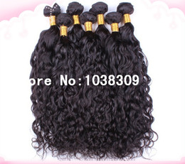 $enCountryForm.capitalKeyWord Canada - Wholesale discount high quality cheapest super soft most feminine unprocessed virgin peruvian weave remy hair natural water wave hair weave