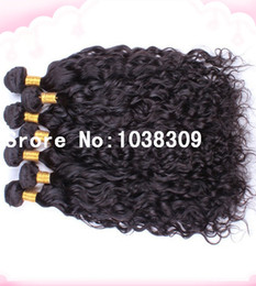 $enCountryForm.capitalKeyWord Canada - Wholesale discount high quality cheapest super soft most feminine unprocessed virgin luxy hair peruvian natural water wave hair weave