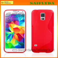 Wholesale S Line Galaxy S3 - New Arrival S-Line Soft TPU Rubber Gel Case Skin Cover Shell For Samsung Galaxy S3 S4 S5 i9600 note 3 note 2