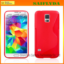 Wholesale Galaxy S Clear Case - New Arrival S-Line Soft TPU Rubber Gel Case Skin Cover Shell For Samsung Galaxy S3 S4 S5 i9600 note 3 note 2