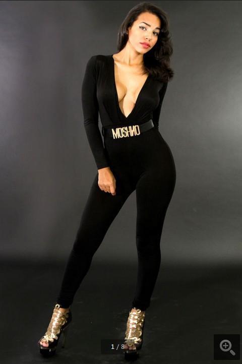 2014新しいファッションジャンプスーツ包帯ドレスセクシーな女性ボディコンボディスーツボディーウェアレディースブラックホワイトジャンプスーツクラブパーティードレスパンツYQW12
