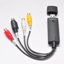 Großhandel Neuer Easycap USB 2.0 Video-Fernsehapparat DVD VHS Audioeinfassungs-Adapter