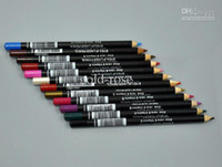 Wholesale Eyes Liners - NEW MIX EYE   LIP Liner Pencil Aloe & Vitamin E1.6g 12 color DHL Free shipping+GIFT