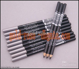 Wholesale HOT Eyeliner eyebrow Liner Pencil Black Brown EYE LIP Liner Pencil Aloe Vitamin E1 g DHL GIFT