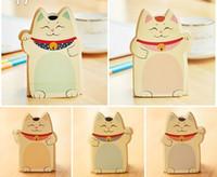 bloco de notas do gato venda por atacado-Frete grátis / Novos gatos bonitos estilos Notepad / Memo pad / Paper sticky note