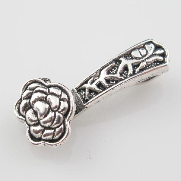 Free Shipping 10Pcs Tibetan Silver Chinese Ruyi Clouds Charms Pendants DIY 11.5x26mm Jewelry making DIY New hot sale
