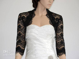 Wholesale Crochet Lace Wedding Dresses - 2015 wedding dresses bridal black lace free shipping 2015 homecoming dresses custom made high quality cheap hot sale