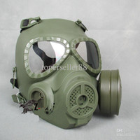 Wholesale Fog Fan - New GEN 4 M04 skull perspiration fog fan GAS mask Face protection Green