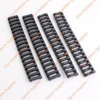 Wholesale Drss Handguard - Drss Ladder 18 Slots Low Profile Rail Covers 4pcs pack Black For Handguard AR15 M4(DS9525A)