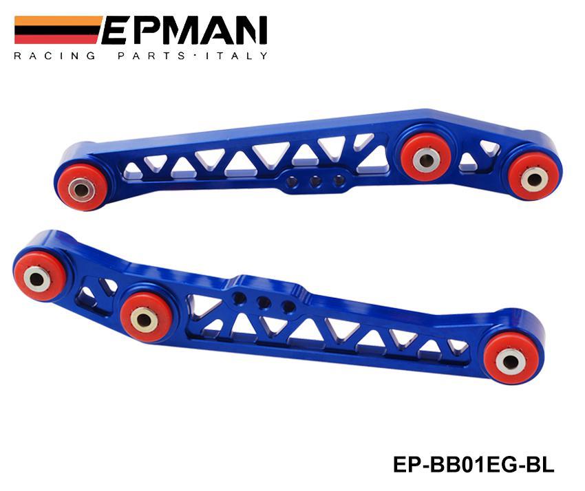 Bras de contrôle inférieur arrière EPMAN haute résistance LCA POUR HONDA CIVIC 88-95 EG ACURA INTEGRA 90-01 EP-BB01EG
