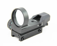 Wholesale Red Dot Sight Multi - Tactical 1x33 Multi Reticle Red & Green Dot 4 Reticle Reflex Sight