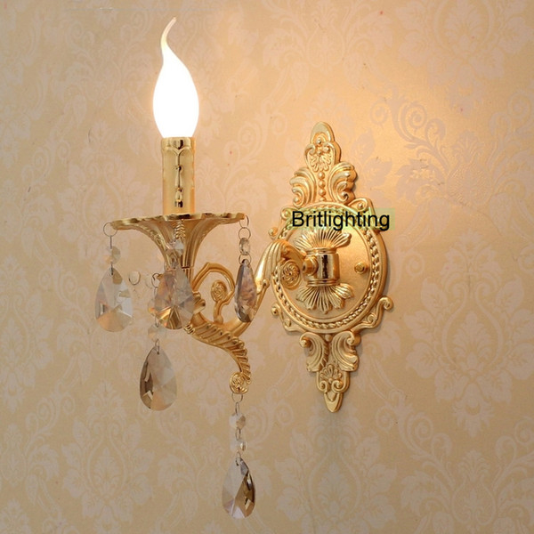 new styles 287c3 796a6 2019 Flush Mount Wall Lights Mirror Lighting Luxury Gold Wall Lamp Bathroom  Lighting Unique Sconces Gold Modern Wall Lighting From Britlighting, ...