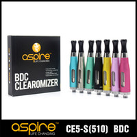 Wholesale Ego Ce5 Replacement - Wholesale - Atomizer Aspire CE5-s BDC Clearomizer BDC Atomizer Bottom Dual Coil vaporizer Aspire BDC CE5 S EGO Atomizer replacement tank