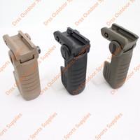 ar15 m4 apertos venda por atacado-Drss CAA Vertical Folding ForeGrip Tactical Aderência Para AR15 / M4 / M16 Preto / Terra Escura / Olive Drab (DS1137)