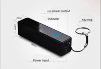 Wholesale External Battery Fragrance - Mini power Fedex free 30 sets 2600mAh Fragrance external battery Emergency Portable power bank for iphone 5 backup battery for Samsung HTC