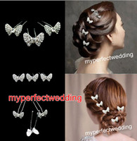 Free Shipping U Shape Bow Butterfly Wedding Bridal Hair Pin ...
