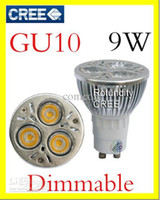mr16 8w led dimmable prices - 100 X GU10 CREE Dimmable 3x3W 4W 5W 6W 7W 8W 9W LED Spot Light Bulb Spotlight spot lamp 110v 220v 240v