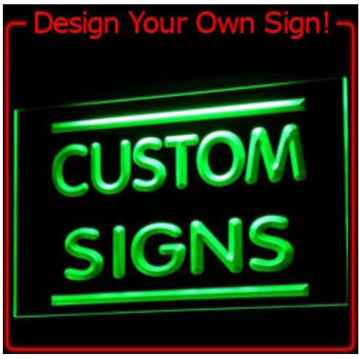 on off switch 2 sizes custom signs neon signs led signs design your