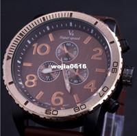 Wholesale V6 Super Speed Quartz Watch - Super Speed Sports Watch V6 for Men's Wristwatch Analog Steel Case Fashion Quartz watches Hot Slae New 2014