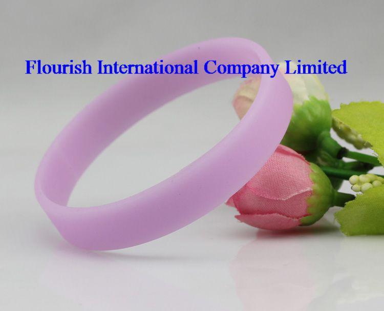wholesale Mix Glow in dark Silicone wristband Blank Silicone Bracelet SP002