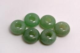 Wholesale Round Gemstone Beads Wholesale - Lots Jewelry Aventurine Gemstone Round Beads High Polished Loose Beads 5mm Big Hole Fit Charms European Bracelet DIY #B103