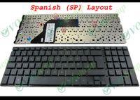 notebook spanisch großhandel-Neue und originelle Notebook-Laptop-Tastatur für HP ProBook 4510S 4515S 4710S Schwarz Spanisch SP-Version - V101826AK1 SP