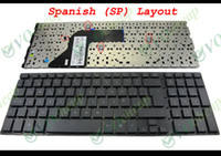 Wholesale Probook 4515s - New and Original Notebook Laptop keyboard for HP ProBook 4510S 4515S 4710S Black Spanish SP Version - V101826AK1 SP