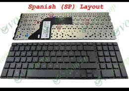 Wholesale Original Laptop Hp - New and Original Notebook Laptop keyboard for HP ProBook 4510S 4515S 4710S Black Spanish SP Version - V101826AK1 SP