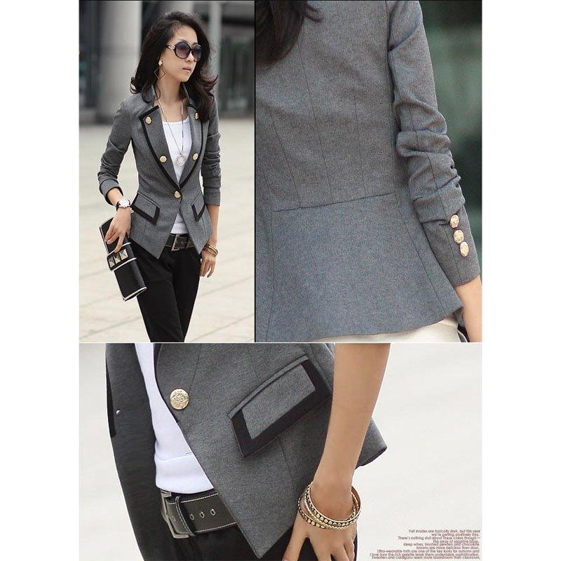 Discount New Women Fashion High Quality Blazer Jacket Lady'S Suits ...