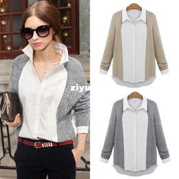 Discount Grey Collared Shirt Woman | 2017 Grey Collared Shirt ...