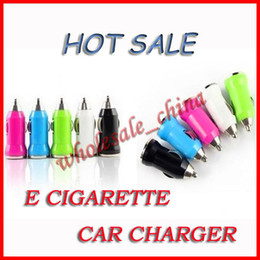Wholesale Electronic Cigarette Car - 2014 New ego Car charger ecig car charger USB for e cigs e cig e-cig electronic cigarette charger design