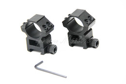 Wholesale Scope Mounts For Picatinny Rail - Tactical 1 Pair 25.4mm Diameter Rifle Scope Weaver Ring Mount Picatinny 20mm Rail For Hunting