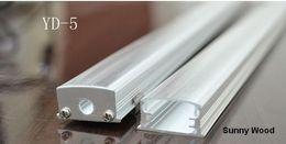 best led profile housing - Free shipping 10pcs lot led aluminium profile for led bar light led strip light channel aluminum housing led strips waterproof profile YD-5