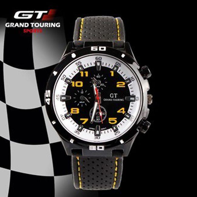 c251d6bf659 Compre 2017 F1 Grand Touring Gt Homens Esporte Relógio De Quartzo Militar  Relógios Exército Japão Pc Movimento Relógio De Pulso Dos Homens Da Forma  Relógios ...
