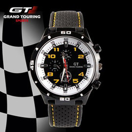 $enCountryForm.capitalKeyWord NZ - 2017 F1 Grand Touring GT Men Sport Quartz Watch Military Watches Army Japan PC Movement Wristwatch Fashion Men's Watches 100pcs utop2012