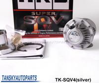 Wholesale Universal Bov - HKS UNIVERSAL BLOW OFF VALVE BOV SQV 4 IV SSQV 4 IV Latest MODEL (Silver)Original color box TK-SQV4(sliver)