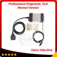 Wholesale Tech Scanner Reader - 2016 version 2014D Volvo scanner High-tech and easily-used Volvo Vida Dice diagnostic In stock