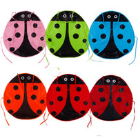 Wholesale Ladybug Kids Kitchen - New Lovely Kids Child Painting Kitchen Garden Waterproof Ladybug Apron Pinafore